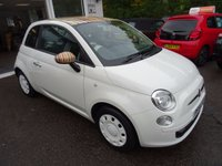 USED 2014 14 FIAT 500 1.2 POP 3d 69 BHP *BUNNY STRIPE EDITION* Just Serviced by ourselves, One Owner from new, MOT until July 2018, Great on fuel! Only £30 Road Tax!