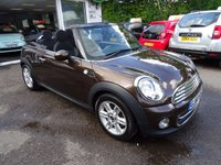 USED 2010 60 MINI CONVERTIBLE 1.6 COOPER 2d 122 BHP Mini Service History + Just Serviced by ourselves, One Previous Owner, NEW MOT (to be completed), Convertible