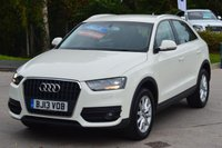 USED 2013 13 AUDI Q3 2.0 TDI SE 5d 138 BHP ****STUNNING EXAMPLE**** ****GREAT FINANCE DEALS AVAILABLE****