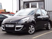 USED 2010 10 RENAULT SCENIC 1.6 DYNAMIQUE VVT 5d 109 BHP FULL SERVICE HISTORY.AIR CON.CRUISE CONTROL.