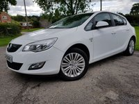 USED 2011 11 VAUXHALL ASTRA 1.4 EXCITE 5d UPGRADED ALLOYS A/C