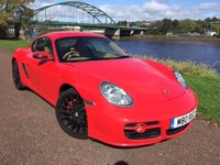 USED 2006 M PORSCHE CAYMAN 3.4 24V S TIPTRONIC S 2d 295 BHP **STUNNING CAYMAN - GUARDS RED!!**