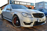 USED 2012 12 MERCEDES-BENZ C CLASS 6.3 C63 AMG MCT 7S 4-MATIC 4dr PERFORMANCE PACK, FMBSH