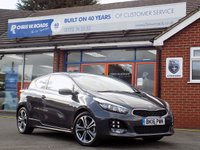 USED 2016 16 KIA CEED 1.6 PRO CEED CRDI GT-LINE ISG 3dr 134 BHP *ONLY 9.9% APR with FREE Servicing*