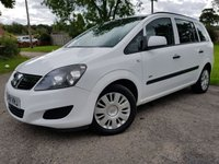 USED 2011 11 VAUXHALL ZAFIRA 1.7 LIFE CDTI 5d 2 FORMER KEEPERS