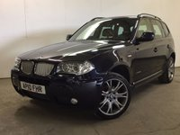 USED 2010 10 BMW X3 2.0 XDRIVE20D LIMITED SPORT EDITION 5d 175 BHP 4WD LEATHER PDC FSH NO FINANCE REPAYMENTS FOR 2 MONTHS STC. 4WD. BODYKIT. STUNNING BLUE MET WITH BLACK LEATHER SPORTS TRIM. CRUISE CONTROL. 19 INCH ALLOYS. COLOUR CODED TRIMS. PARKING SENSORS. CLIMATE CONTROL. R/CD PLAYER. 6 SPEED MANUAL. MFSW. MOT 11/18. ONE PREV OWNER. FULL SERVICE HISTORY. FCA FINANCE APPROVED DEALER. TEL 01937 849492