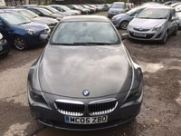 USED 2005 05 BMW 6 SERIES 4.4 645CI 2d AUTO 329 BHP