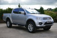 USED 2015 15 MITSUBISHI L200 2.5 DI-D 4X4 CHALLENGER LB DCB 1d 175 BHP NEVER TOWED, 175BHP, ALLOY WHEELS, ELECTRIC WINDOWS, A/C