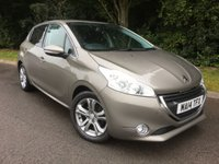 USED 2014 14 PEUGEOT 208 1.2 ALLURE 5d 82 BHP * £20 Per Year Road Tax*