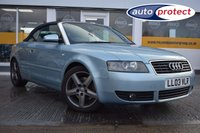 USED 2003 03 AUDI A4 3.0 Sport Cabriolet CVT 2dr THE CAR FINANCE SPECIALIST