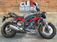 USED 2017 17 TRIUMPH STREET TRIPLE R ABS Stunning Condition