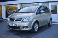 USED 2010 59 VAUXHALL MERIVA 1.7 CDTi 16v Design 5dr (a/c) COMES WITH 6MTHS WARRANTY