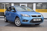 USED 2010 10 FORD FOCUS 1.6 TDCi DPF Zetec 5dr THE CAR FINANCE SPECIALIST