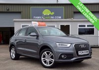 USED 2013 13 AUDI Q3 2.0 TDI S LINE 5d  Hire Purchase and PCP Available
