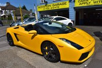 USED 2009 09 LAMBORGHINI GALLARDO 5.0 V10 Spyder Spyder E-Gear 4WD 2dr FINANCE AVAILABLE FROM 3.5%
