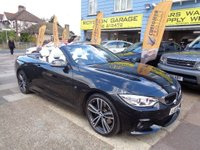 USED 2015 13 BMW 4 SERIES 2.0 420d M Sport Plus Auto 2dr Convertible Massive spec ex demo car BMW DEMO LIST PRICE OF £48000