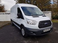 2015 FORD TRANSIT 350 2.2 125 BHP L3 H2 FWD TREND SHR *** CHOICE OF 70 VANS*** £10950.00
