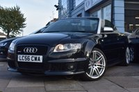 USED 2006 56 AUDI RS4 CABRIOLET 4.2 Convertible 2dr Petrol Manual Quattro (336 g/km, 415 bhp) Ceramic brakes , Wing back seats , big spec car THE CAR FINANCE SPECIALIST
