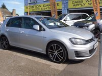 2014 VOLKSWAGEN GOLF 2.0 TDI BlueMotion Tech GTD Hatchback DSG 3dr £15999.00