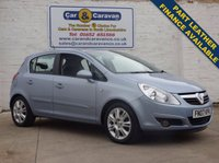 USED 2007 07 VAUXHALL CORSA 1.2 DESIGN 16V 5d 80 BHP Part Leather Air Conditioning 0% Deposit Finance Available