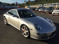 USED 2005 05 PORSCHE 911 3.8 CARRERA 2 S 997 Coupe 355 BHP Black leather sports seats, PCM Sat Nav, heated seats +