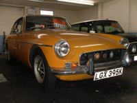 USED 1972 K MG MGB 1.8 2dr 1 OWNER FROM NEW
