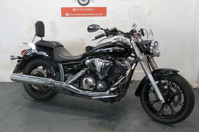 2011 61 YAMAHA XVS 950 MIDNIGHT STAR