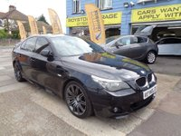 2010 BMW 5 SERIES 2.0 520d M Sport Business Edition Saloon 4dr Diesel Automatic (149 g/km, 177 bhp) £10999.00