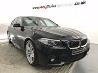 2015 BMW 5 SERIES 2.0 520D M SPORT 4d AUTO 188 BHP £19995.00