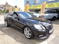 2009 MERCEDES-BENZ E CLASS 2.1 E220 CDI BlueEFFICIENCY Sport 4dr £8999.00