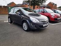 USED 2013 13 VAUXHALL CORSA 1.4 SE 3d AUTO 98 BHP FRONT HEATED WINDSCREEN,AND STEARING WHEEL!!..EXCELLENT FUEL ECONOMY!..LOW CO2 EMISSIONS(143G/KM)..LOW ROAD TAX..FULL HISTORY..ONLY 3781 MILES FROM NEW!!