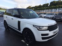 USED 2014 LAND ROVER RANGE ROVER 3.0 TDV6 VOGUE 5d 258 BHP Black Package, 22 inch, Black opening panoramic roof & more++
