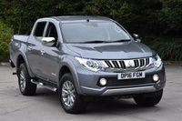 USED 2016 16 MITSUBISHI L200 2.4 DI-D 4X4 BARBARIAN DCB 4d 178 BHP AIR CON LWB EURO5 DIESEL MANUAL PICK UP ONE OWNER SERVICE /H SPARE KEY
