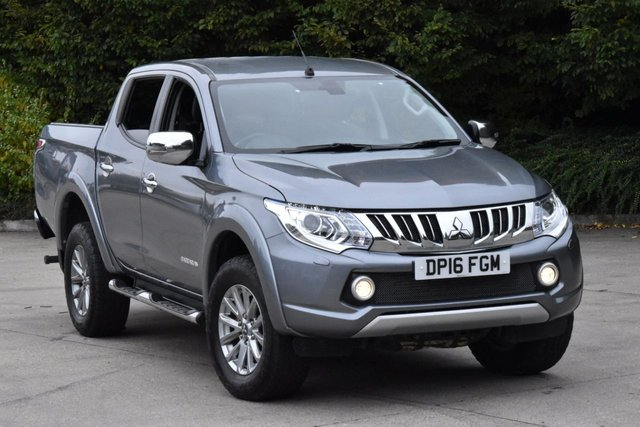 2016 16 MITSUBISHI L200 2.4 DI-D 4X4 BARBARIAN DCB 4d 178 BHP AIR CON LWB EURO5 DIESEL MANUAL PICK UP ONE OWNER SERVICE /H EURO 5