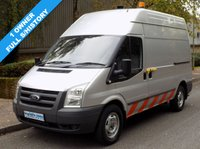 USED 2010 10 FORD TRANSIT  2.4 RWD 350 MWB HIGH ROOF COMPRESSOR VAN 140 BHP 6 SPEED 1 Owner, Full Service History
