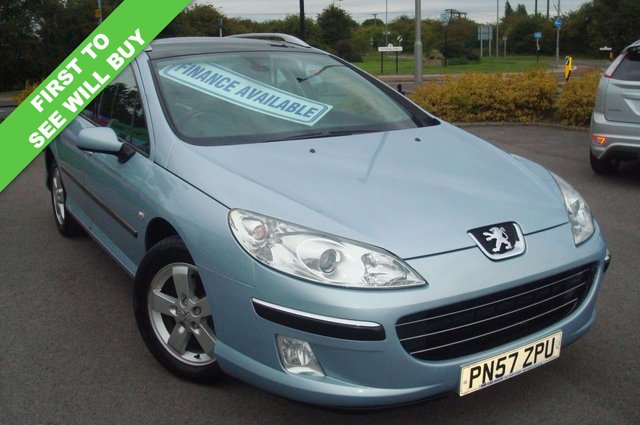 2007 57 PEUGEOT 407 2.0 SW SE HDI 5d 135 BHP TOTALLY UNMARKED THROUGHOUT
