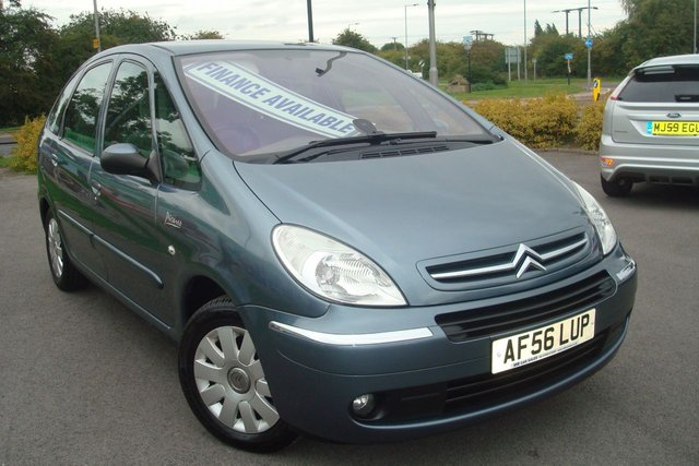 2006 56 CITROEN XSARA PICASSO 1.6 PICASSO EXCLUSIVE 16V 5d 108 BHP 1 FORMER KEEPER FSH