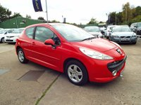USED 2008 58 PEUGEOT 207 1.4 SPORT 3d 73 BHP SERVICE HISTORY