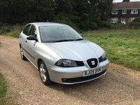 USED 2005 05 SEAT IBIZA 1.4 SX 3d 74 BHP F/S/H, Alloy Wheels, 1 Owner