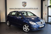 USED 2009 09 MERCEDES-BENZ B CLASS 2.0 B200 CDI SPORT 5DR 140 BHP + MERCEDES SERVICE HISTORY + HALF LEATHER INTERIOR + SPORT SEATS +  AIR CONDITIONING + SPORT PACKAGE + 18 INCH ALLOY WHEELS +