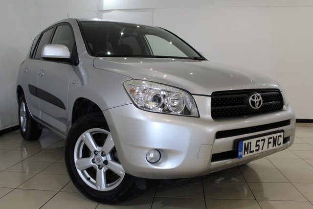 View our 2007 57 TOYOTA RAV4 2.0 VVTI XTR 5DR AUTOMATIC 150 BHP