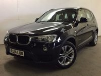 USED 2014 14 BMW X3 2.0 SDRIVE18D SE 5d 148 BHP SPORT SEATS/SUSPENSION SAT NAV LEATHER ONE OWNER FSH NOW SOLD.