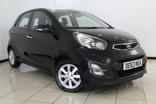 View our 2013 63 KIA PICANTO 1.2 2 5DR AUTOMATIC 84 BHP