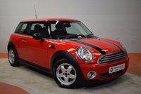 2008 MINI HATCH 1.4 ONE 3 Door Hatchback  £3890.00