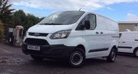 2014 FORD TRANSIT CUSTOM 2.2 290 LR P/V 1d 99 BHP VAN SECURITY LOCKS FULL SERVICE HISTORY LOVELY VEHICLE  £8995.00