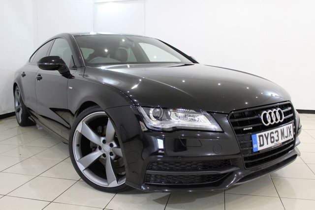 View our 2013 63 AUDI A7 3.0 TDI QUATTRO S LINE BLACK EDITION 5DR AUTOMATIC 245 BHP