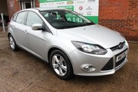 USED 2013 13 FORD FOCUS 1.6 ZETEC TDCI 5d 113 BHP +FULL History +LOW Tax Band.