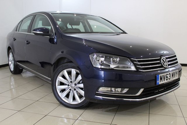 View our 2013 63 VOLKSWAGEN PASSAT 2.0 HIGHLINE TDI BLUEMOTION TECHNOLOGY DSG 4DR AUTOMATIC 139 BHP