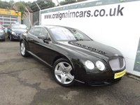 2004 BENTLEY CONTINENTAL 6.0 GT 2d AUTO 550 BHP £28995.00