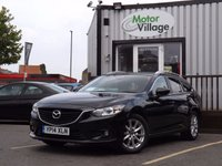 USED 2014 14 MAZDA 6 2.2 D SE-L 5d 148 BHP STUNNING EXAMPLE WITH FULL MAIN DEALER SERVICE HISTORY INC 6 SERVICE VISIT , 2 KEYS